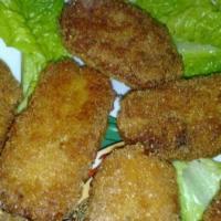 Croquettes de thon sans gluten