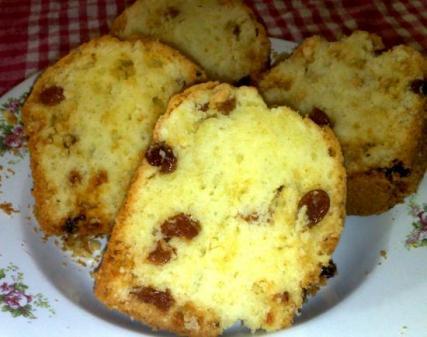 Cake aux raisin secs