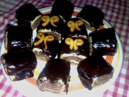 Petits carrés chocolatés