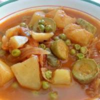 Jardinière de légumes en sauce ratatouille