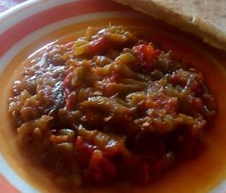 Salade de poivrons (H'miss)