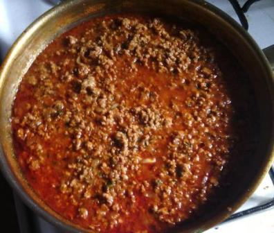 Sauce bolognaise à la coriandre
