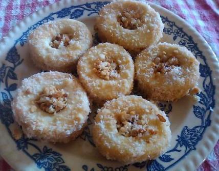 Sablés cacahuètes - noix de coco