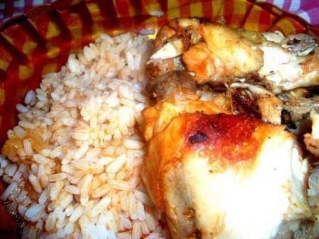 Poulet en sauce