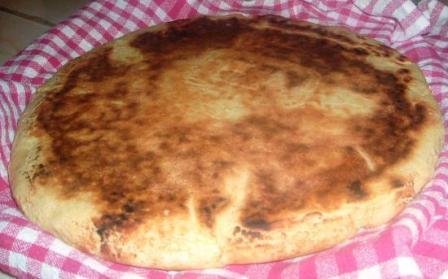 Galette de pain levée