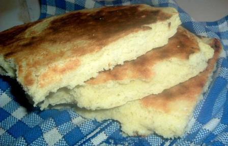 Galette de pain levé