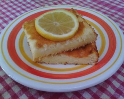 Gâteau léger au citron sans gluten