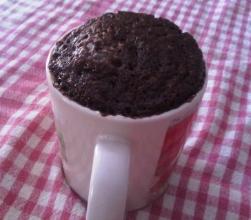 mug cake au chocolat en poudre. Black Bedroom Furniture Sets. Home Design Ideas