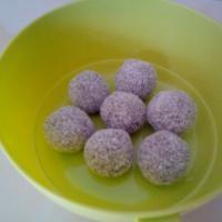 Boules énergétiques datte - coco